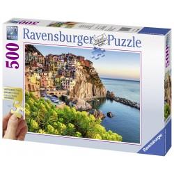 "Ravensburger dėlionė ""Puzzle 500 Colorful Italy"""