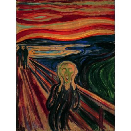 "Ravensburger dėlionė ""Puzzle 1000 Edvard Munch: The Scream"""