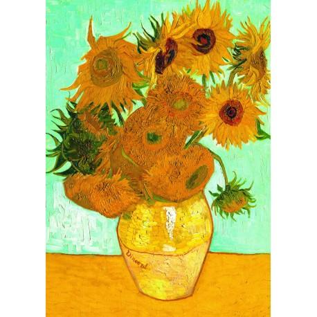 """Ravensburger dėlionė """"Puzzle 1000 Vincent van Gogh: Sunflowers"""""""