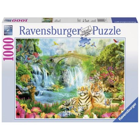 "Ravensburger dėlionė ""Puzzle 1000 Tiger Grotto"""