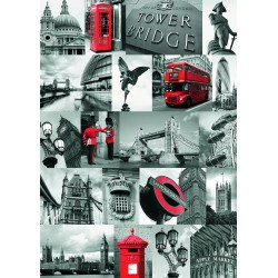 "Ravensburger dėlionė ""Puzzle 1000 London"""