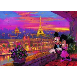 "Ravensburger dėlionė ""Puzzle 1000 A Paris Sunset"""