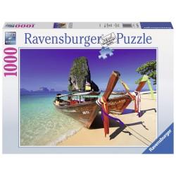 "Ravensburger dėlionė ""Puzzle 1000 Caribbean Boats"""