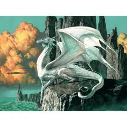 "Ravensburger dėlionė ""Puzzle 1000 Dragon"""