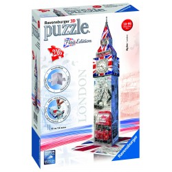 "Ravensburger dėlionė ""3D Puzzle Flag Edition Big Ben"""