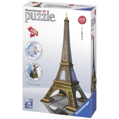 """Ravensburger dėlionė """"3D Puzzle La Tour Eiffel - Paris"""""""