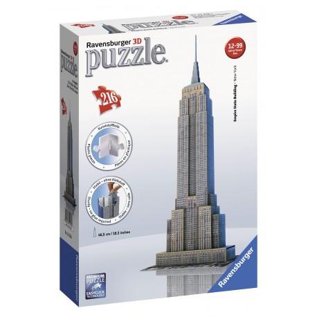 "Ravensburger dėlionė ""3D Puzzle Empire State Building - New York"""