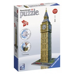 "Ravensburger dėlionė ""3D Puzzle Big Ben - London"""