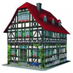 """Ravensburger dėlionė """"3D Puzzle Medieval House"""""""