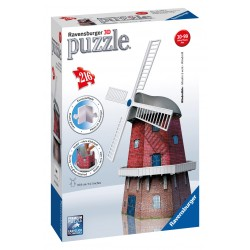 "Ravensburger dėlionė ""3D Puzzle Windmill"""