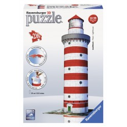 "Ravensburger dėlionė ""3D Puzzle Light House"""