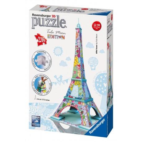 "Ravensburger dėlionė ""3D Puzzle Eiffel Tower by Tula Moon"""
