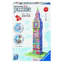 "Ravensburger dėlionė ""3D Puzzle Big Ben by Tula Moon"""