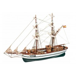 Occre Aurora Brig 1:65 (13001) Scale Model Boat Kit