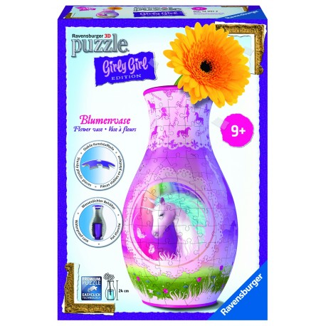 "Ravensburger dėlionė - vaza ""3D Puzzle Flower Vase"""