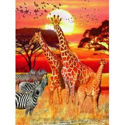"""Ravensburger dėlionė """"Puzzle 1500 African sunset"""""""
