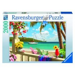 "Ravensburger dėlionė ""Puzzle 2000 Tropical Paradise"""
