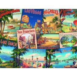 "Ravensburger dėlionė ""Puzzle 2000 Vintage Vacations"""