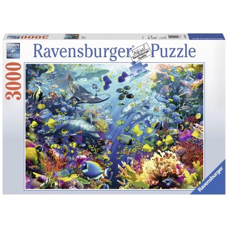 """Ravensburger dėlionė """"Puzzle 3000 Underwater Paradise"""""""