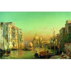 "Ravensburger dėlionė ""Puzzle 3000 Friedrich Nerly, The Grand Canal"""