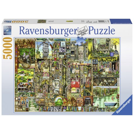 "Ravensburger dėlionė ""Puzzle 5000 Bizzare Town"""