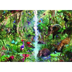 "Ravensburger dėlionė ""Puzzle 9000 Jungle Animals"""