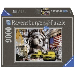 "Ravensburger dėlionė ""Puzzle 9000 New York City Impressions"""