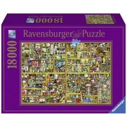 "Ravensburger dėlionė ""Puzzle 18000 Magical Bookcase"""