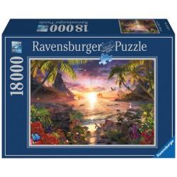 "Ravensburger dėlionė ""Puzzle 18000 Paradise Sunset"""