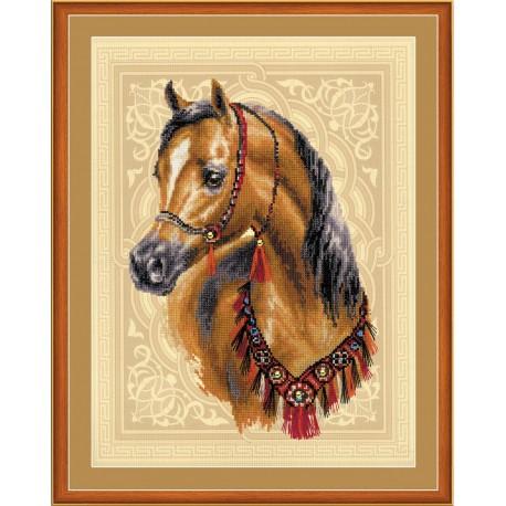Arabian Horse - Cross Stitch Kit from RIOLIS Ref. no.:0040 PT