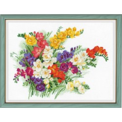 Freesia - Cross Stitch Kit from RIOLIS Ref. no.:1561
