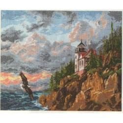 """Alisa Siuvinėjimo rinkinys """"Stati pakrantė"""" 3-01 (32x24 cm)"""