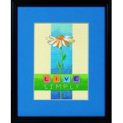 DIMENSIONS Live Simply, Counted Cross Stitch_06975