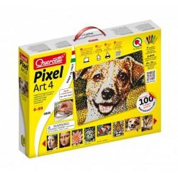 """Pikselių menas: Pixel Art 4800pix """"Įvairūs paveikslai viename"""" - 4 dalių (33x25 cm)"""