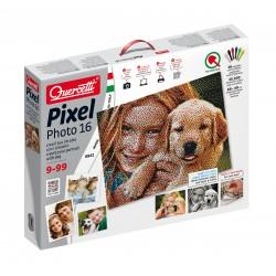 """Pikselių menas: Pixel Photo 19200pix """"Susikurk savo portretą"""" - 16 dalių (66x49 cm)"""