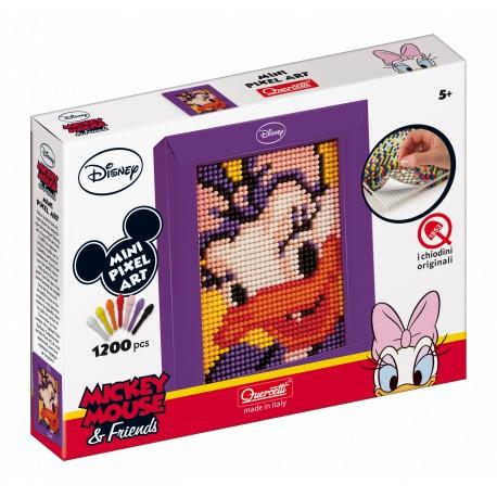 """Pikselių menas: Pixel Art Mini 1200pix """"Antytė Deizė"""" -  1 dalies (17x21 cm)"""