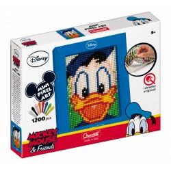 "Pikselių menas: Pixel Art Mini 1200pix ""Antinas Donaldas"" - 1 dalies (17x21 cm)"