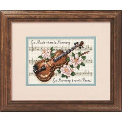 DIMENSIONS Music is Harmony, Counted Cross Stitch_16656