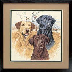 DIMENSIONS Great Hunting Dogs, Counted Cross Stitch_35096