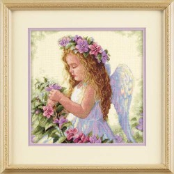 DIMENSIONS Passion Flower Angel, Counted Cross Stitch_35229
