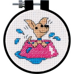 DIMENSIONS Perky Puppy, Counted Cross Stitch_73039