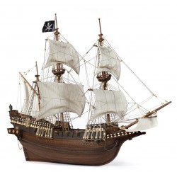 Occre Buccaneer Wooden Pirate Galleon 1:100 Scale Model Ship Kit 12002