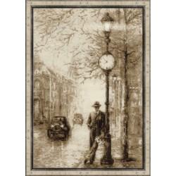 Riolis: Siuvinėjimo rinkinys 1611 Old Photo. Waiting