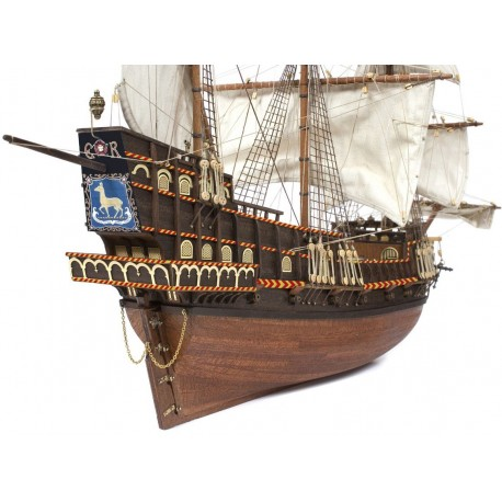 """Occre """"Golden Hind"""" 1:85 Scale Model Ship Kit 12003"""