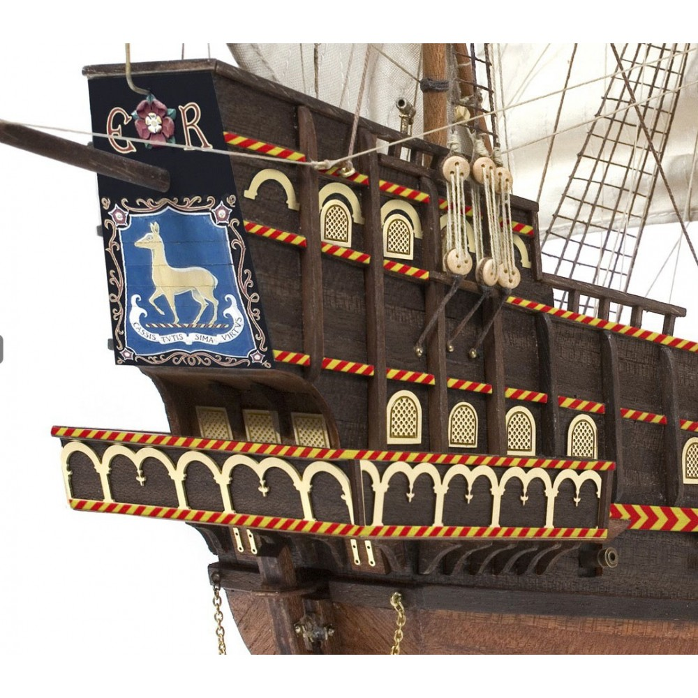 Occre Quot Golden Hind Quot 1 85 Scale Model Ship Kit 12003