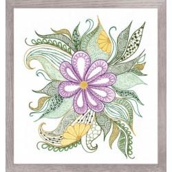 Riolis: Siuvinėjimo rinkinys 1588 Lovely Flower