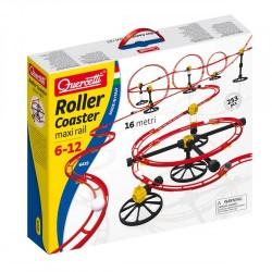 Quercetti Linksmieji kalneliai kamuoliukui Roller Coaster Maxi Rail 6435