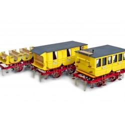 Occre Adler Coaches 1:24 Scale Model Kit (3 MODELS) - 56001