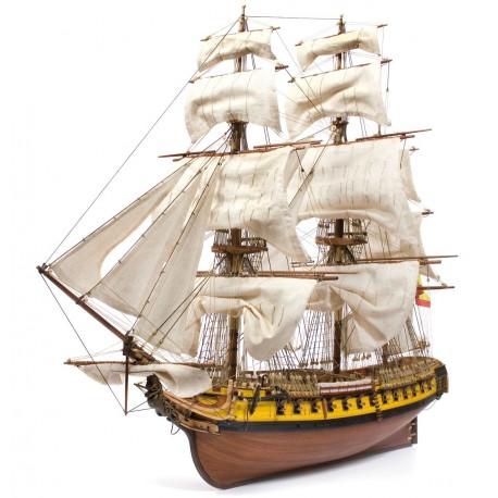 Occre N.S. Mercedes Spanish Frigate 1:85 Scale Wood Model Ship Kit 14007
