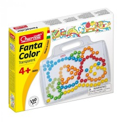 """Quercetti mosaic """"Fantacolor Transparent Basic"""" 0653"""